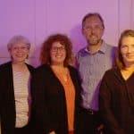 Der neue Vorstand v.links: Ingrid Salvador-Perez, Ursula Geßner, Susanne Zwanzger, Alexander Reichert, Barbara Helmers, Jean-Pierre Reichert
